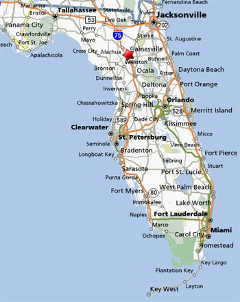Florida Map Directions.Florida Startalk For Teachers Of Chinese Directions Transportation